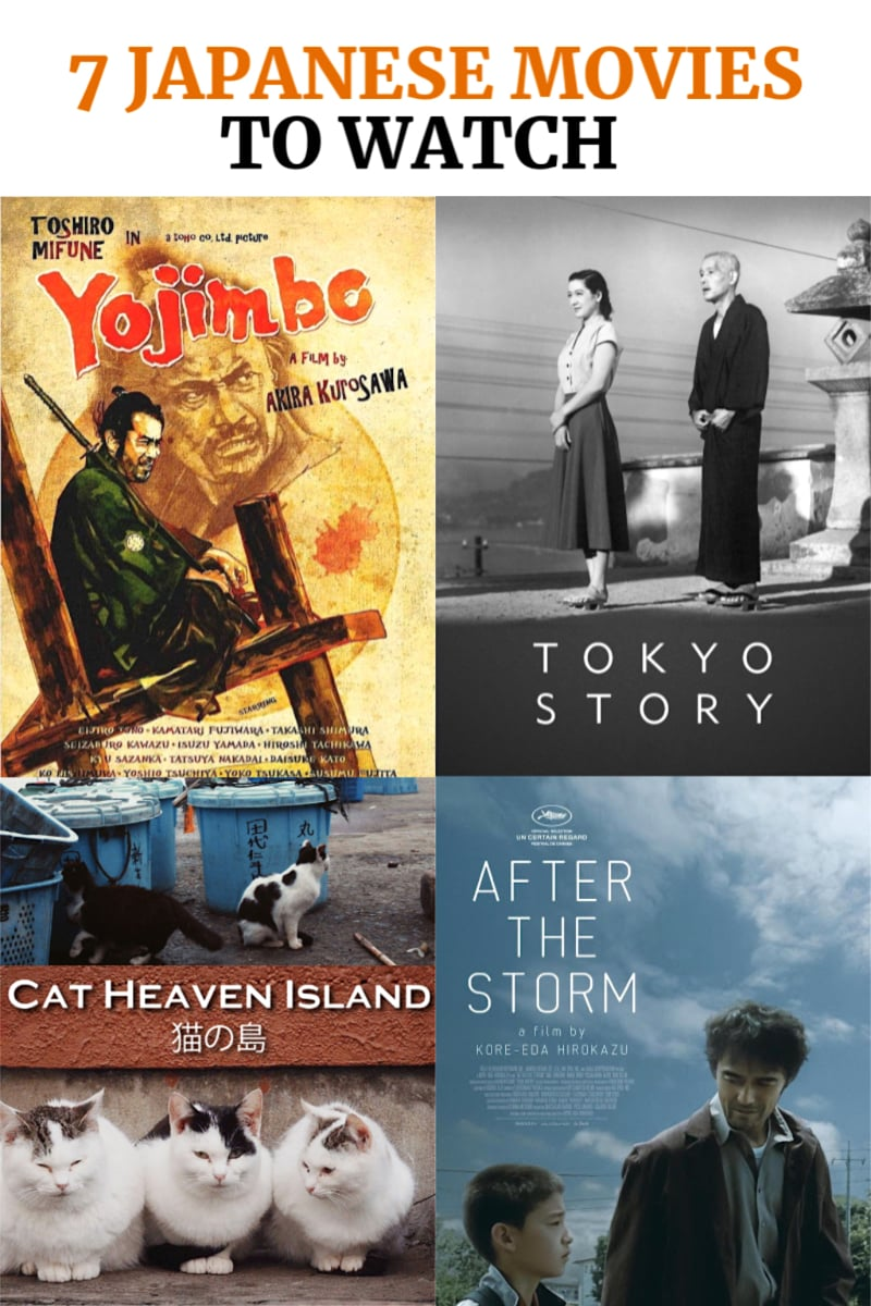 Best Japanese Movies to Add to Your Watchlist. available on Amazon