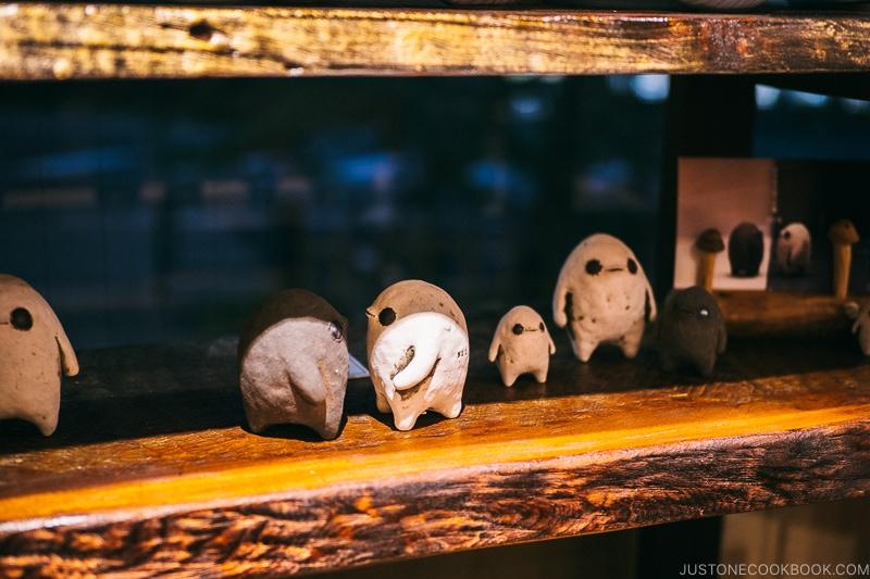 creature statue - Restaurant Den Tokyo | www.justonecookbook.com