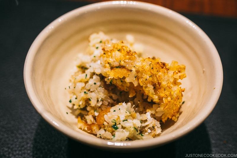 conger eel rice - Restaurant Den Tokyo | www.justonecookbook.com