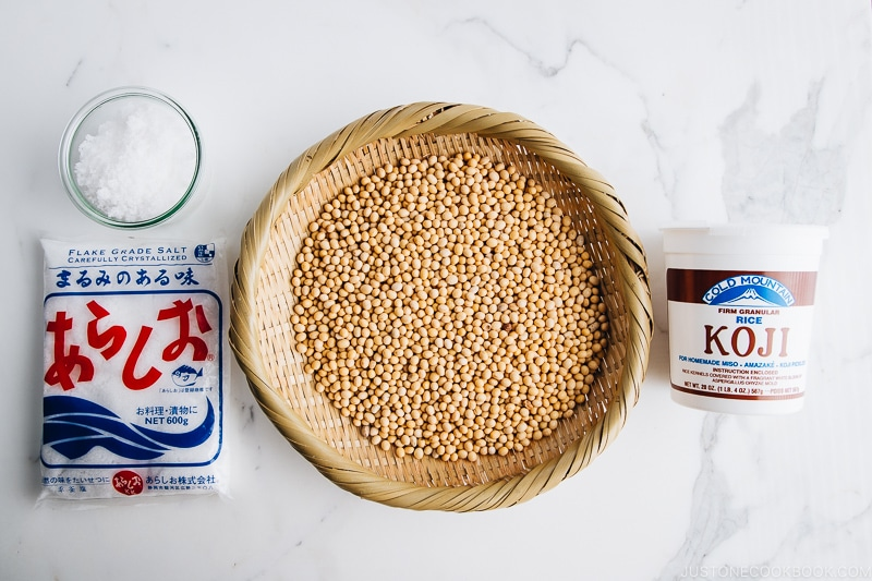 How to Make Miso Ingredients
