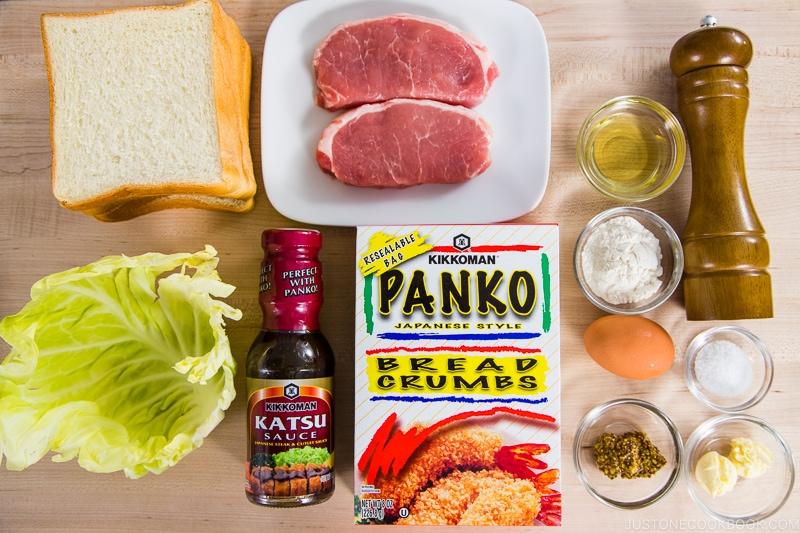 Katsu Sando Ingredients