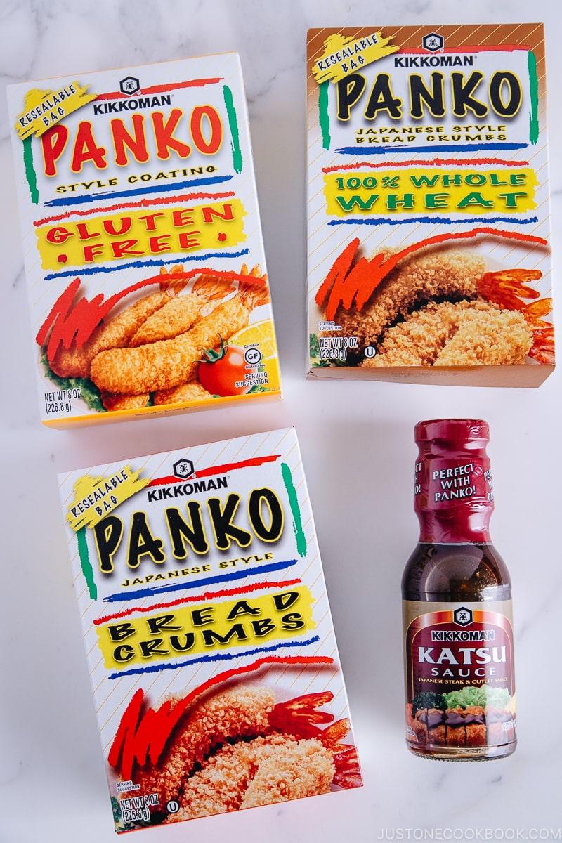 Kikkoman Panko and Katsu Sauce