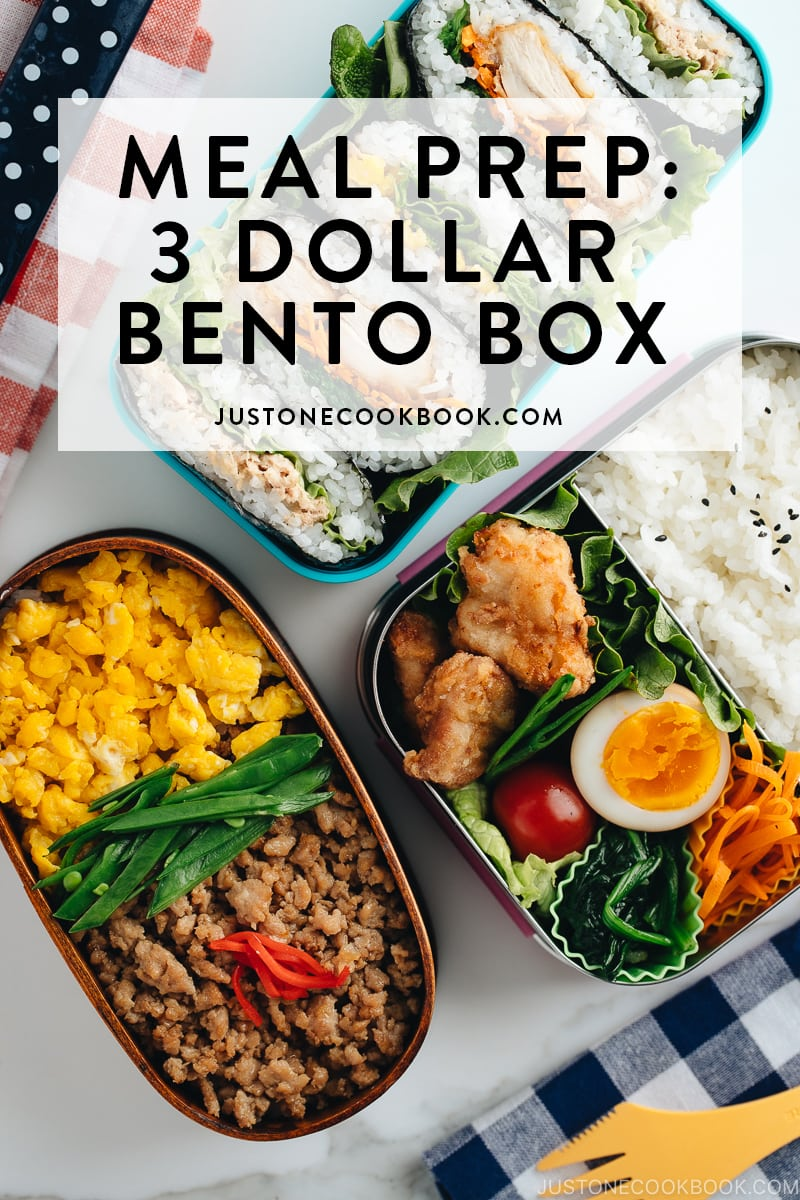 meal prep recipe ideas for bento box lunch for school and work