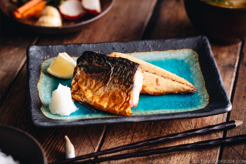 Grilled Mackerel (Saba Shioyaki) ?????