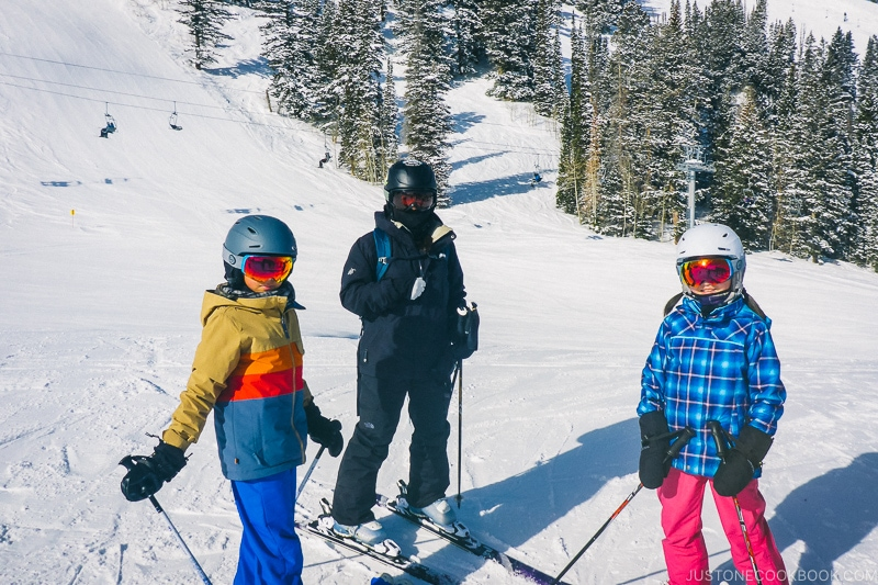 Just One Cookbook family at Solitude Mountain Resort - Ski Vacation Planning in Utah | www.justonecookbook.com