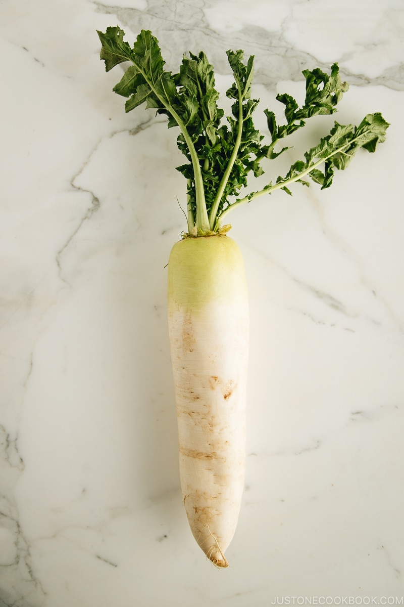 Daikon (Japanese radish) | Easy Japanese Recipes at JustOneCookbook.com