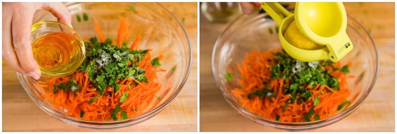 Easy Carrot Salad 4