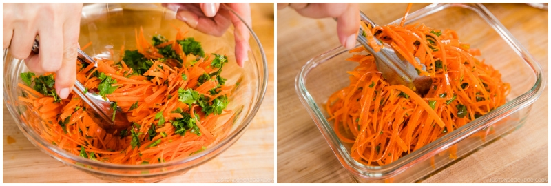 Easy Carrot Salad 5