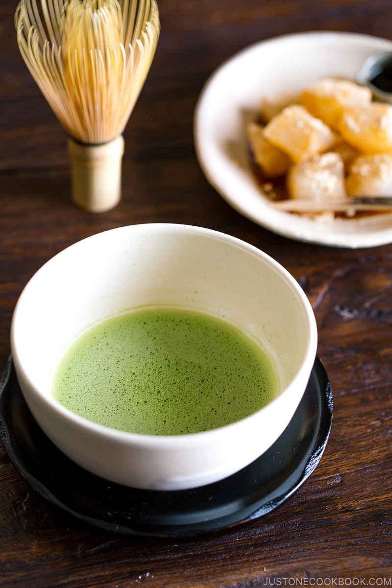 Matcha and Warabi Mochi