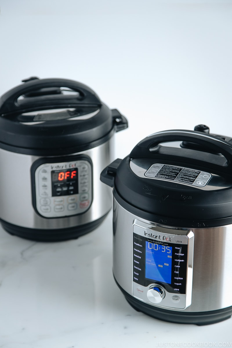 Which Instant Pot Should We Buy? Instant Pot Duo vs. Instant Pot Ultra | Easy Japanese Recipes at JustOneCookbook.com