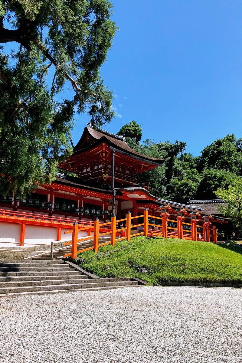 center courtyard - Nara Guide: Kasuga-taisha | www.justonecookbook.com