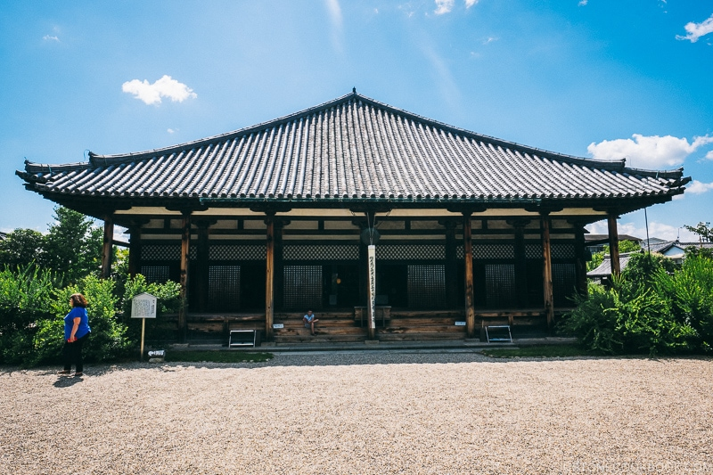 Gangoji - Nara Guide: Historical Nara Temples and Shrine | www.justonecookbook.com