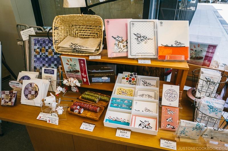 souvenirs inside Kaoh - Nara Guide: Kasuga-taisha | www.justonecookbook.com