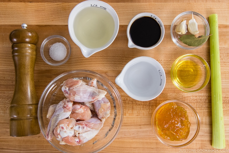 Orange Teriyaki Chicken Ingredients