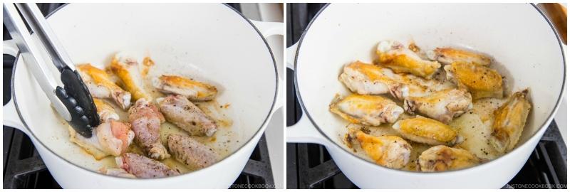 Orange Teriyaki Chicken Wings 4
