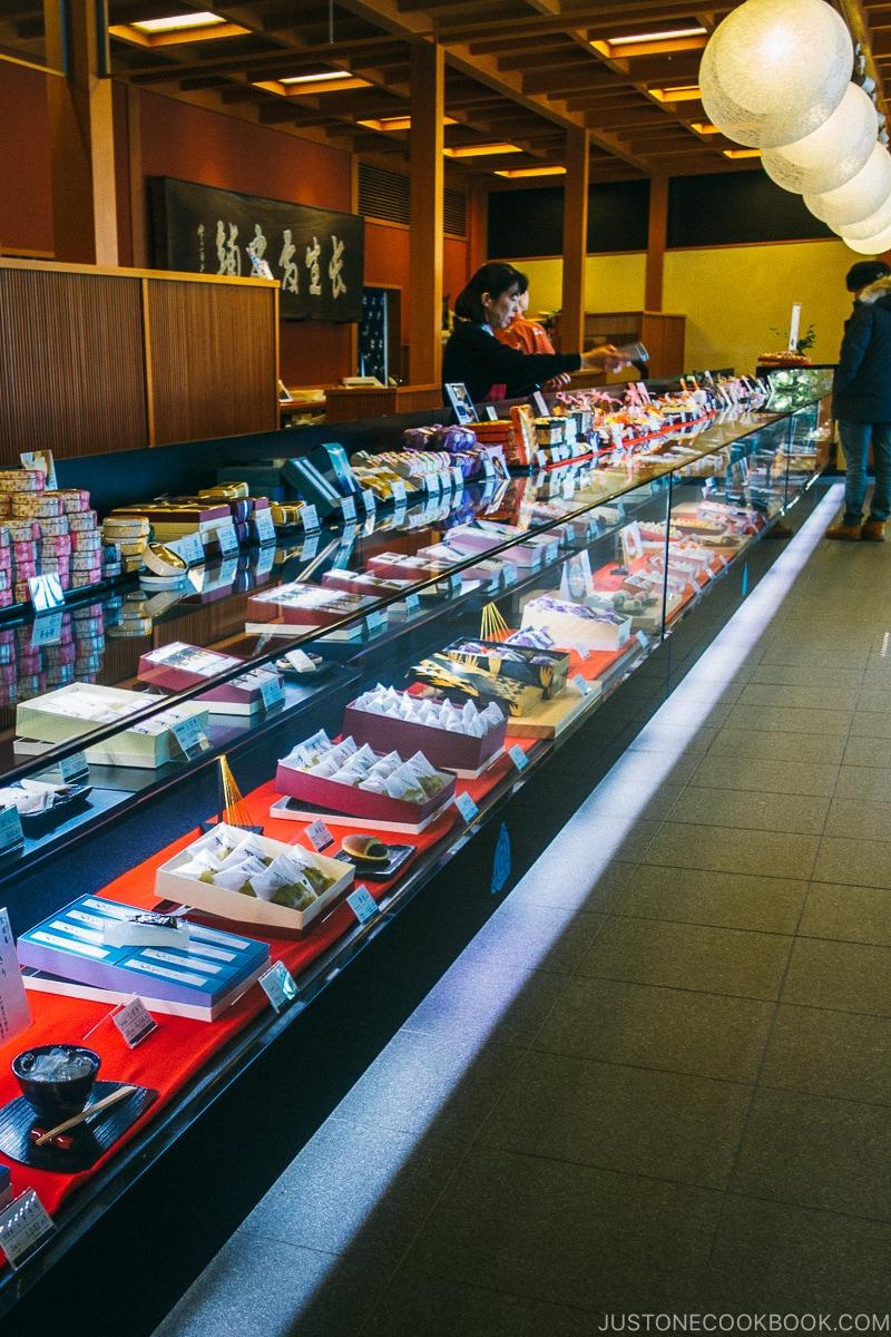 Wagashi shop