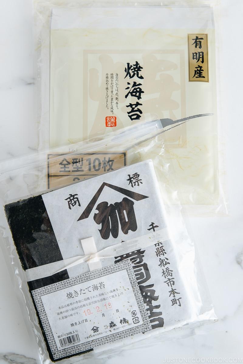 Yaki Nori Seaweed I Easy Japanese Recipes at JustOneCookbook.com