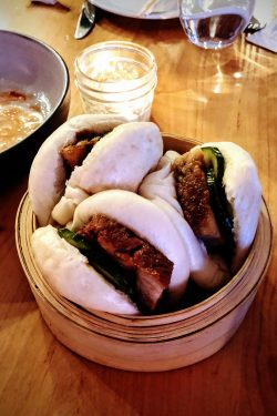 pork bun at Provisions Restaurant Salt Lake City - Delicious Dining in Salt Lake City | www.justonecookbook.com