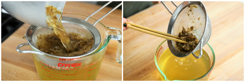 How To Make Dashi だしの作り方 • Just One Cookbook