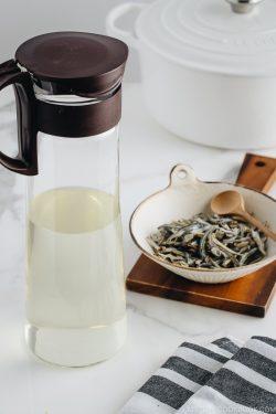 Iriko Dashi - Japanese Soup Stock in the bottle.
