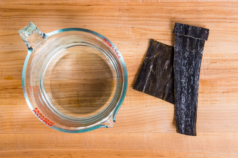 Kombu Dashi Ingredients