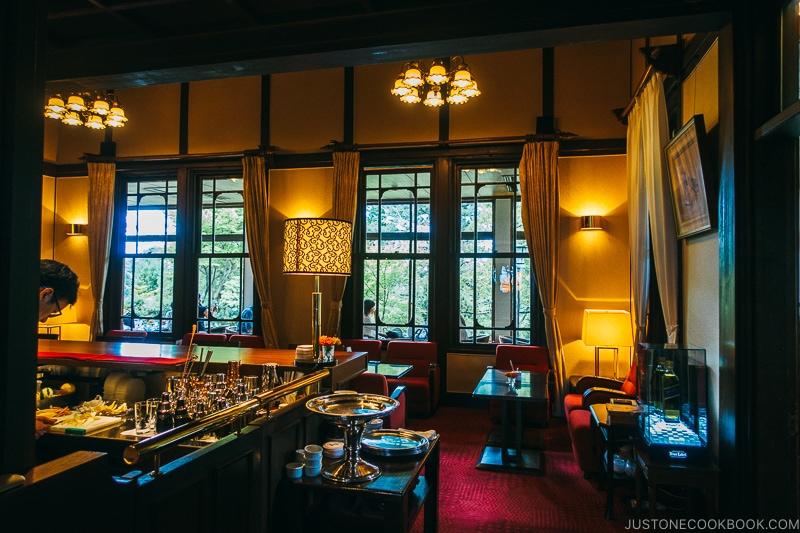 Tea Lounge at Nara Hotel - Nara Guide: Things to do in Nara | www.justonecookbook.com