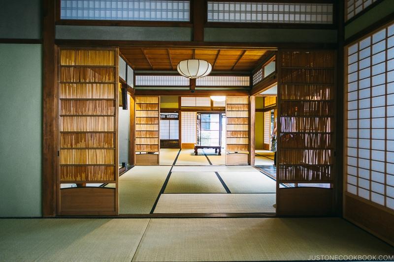 interior of Koshinoie - Nara Guide: Things to do in Nara | www.justonecookbook.com
