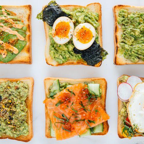6 Japanese Twists on Avocado Toast