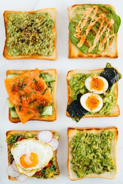 6 Japanese Twists on Avocado Toast