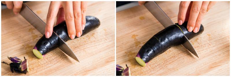 Eggplant Unagi Donburi 1