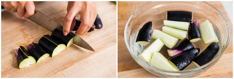 Eggplant Unagi Donburi 2
