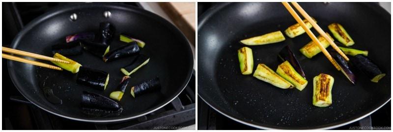 Eggplant Unagi Donburi 6