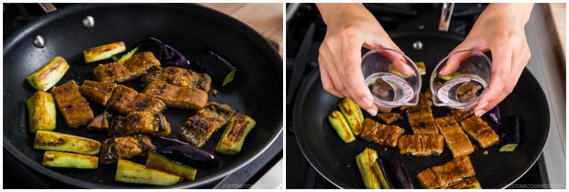 Eggplant Unagi Donburi 7