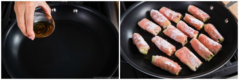 Ginger Pork Rolls with Eggplant 10