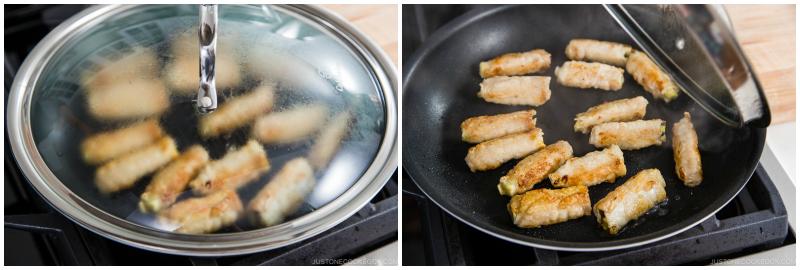 Ginger Pork Rolls with Eggplant 12