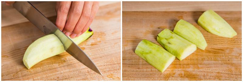 Ginger Pork Rolls with Eggplant 2