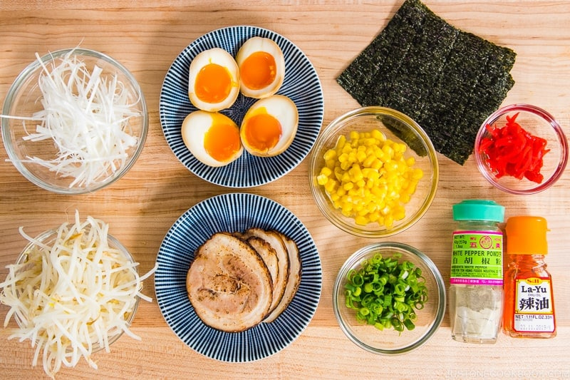Miso Ramen Ingredients 2