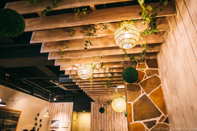 interior of Elk Restaurant - Osaka Guide: Amerikamura & Shinsaibashi Shopping Street | www.justonecookbook.com