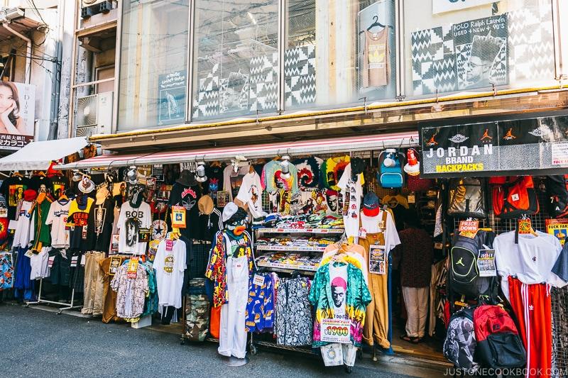 clothing store - Osaka Guide: Amerikamura & Shinsaibashi Shopping Street | www.justonecookbook.com