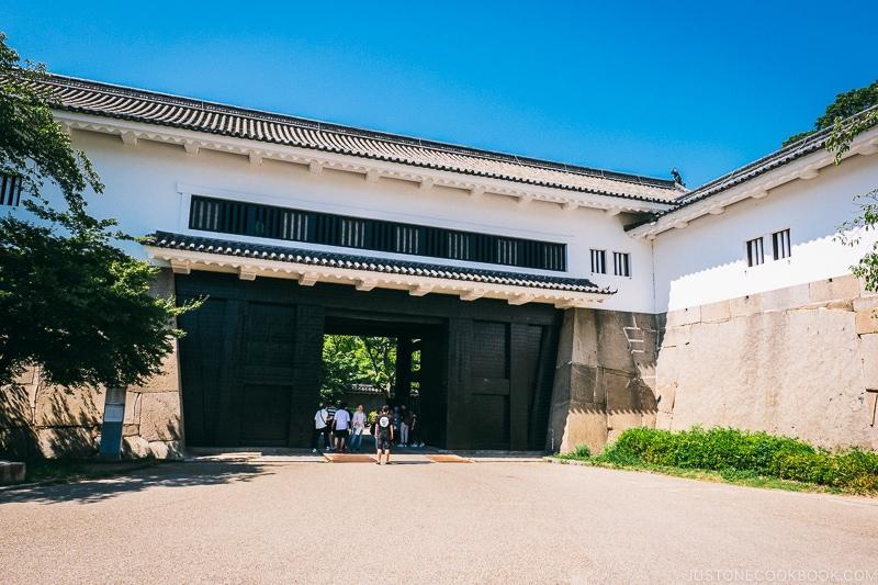 Otemon Gate - Osaka Guide: Osaka Castle| www.justonecookbook.com