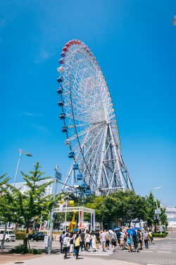 Tempozan Giant Ferris Wheel - Osaka Guide: Tempozan Harbor Village | www.justonecookbook.com