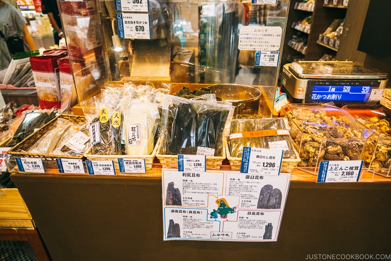 kombu shop - Osaka Guide: Umeda | www.justonecookbook.com