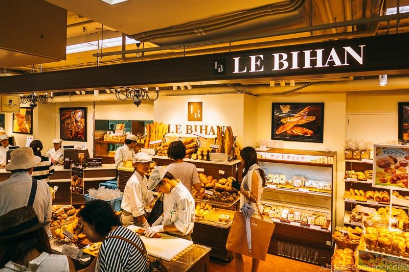 Le Bihan bakery - Osaka Guide: Umeda | www.justonecookbook.com