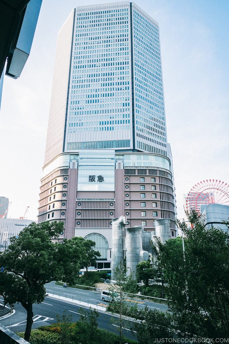 Hankyu Umeda - Osaka Guide: Umeda | www.justonecookbook.com