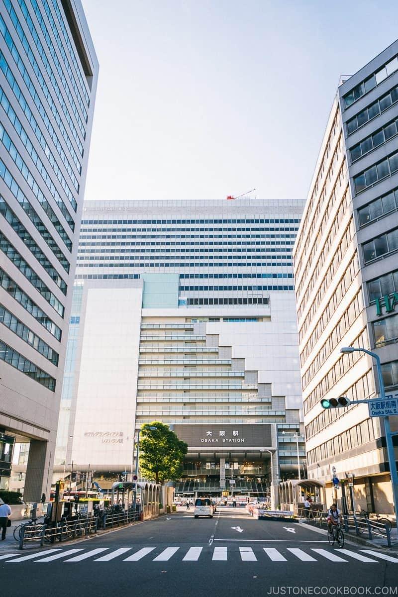 Osaka Station Umeda - Osaka Guide: Umeda | www.justonecookbook.com