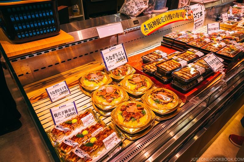 Unagi and Anago Sushi - Osaka Guide: Umeda | www.justonecookbook.com