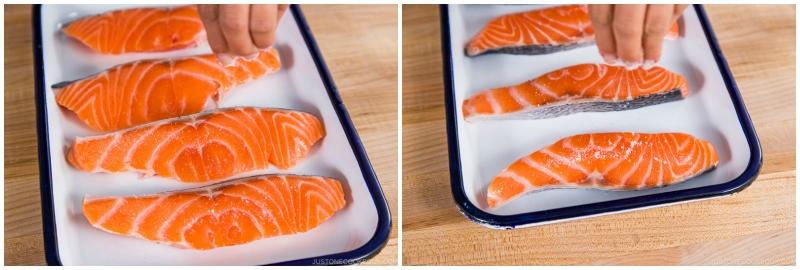 Salmon Kasuzuke 1