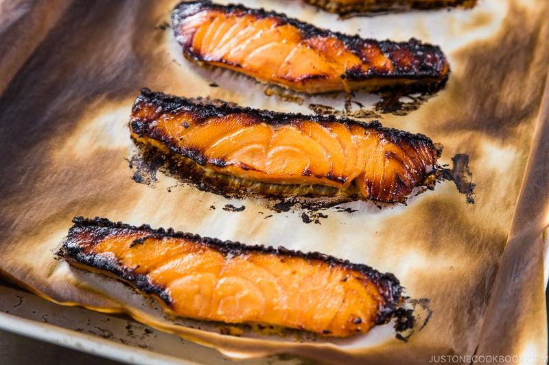 Salmon Kasuzuke 8