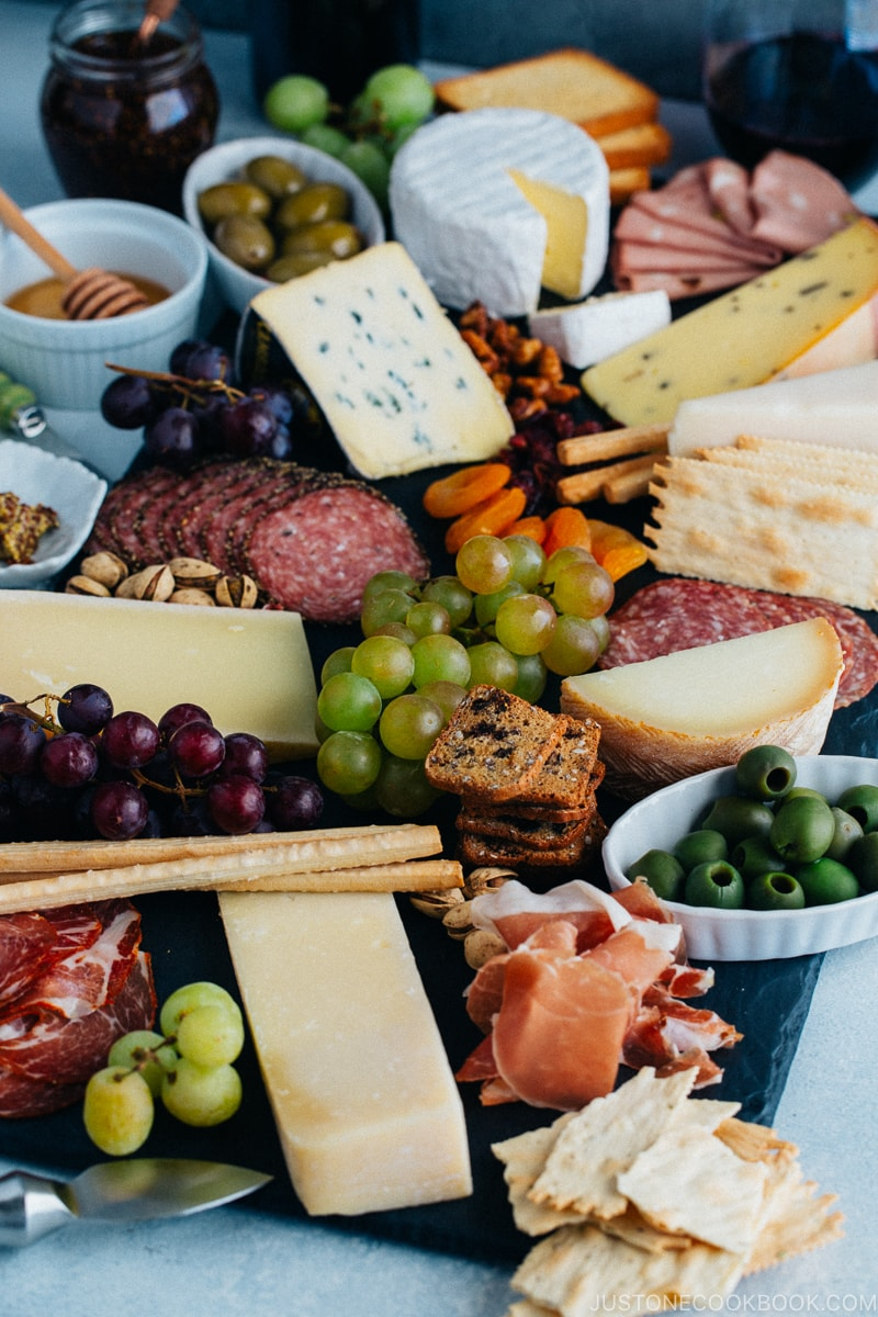 Cheese Board - 12 Summer BBQ & Potluck Recipes Your Guests Would Love | Easy Japanese Recipes at JustOneCookbook.com