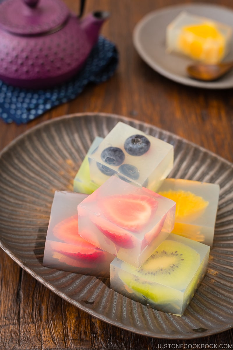 Fruit Jelly - 12 Summer BBQ & Potluck Recipes Your Guests Would Love | Easy Japanese Recipes at JustOneCookbook.com